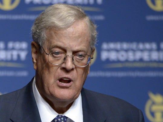 Koch Steps Down