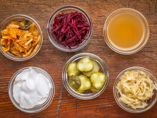 Fermented foods are great for gut health.