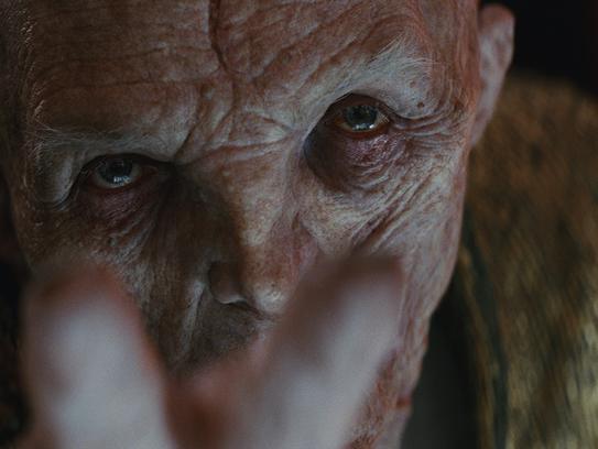Supreme Leader of the First Order Snoke (Andy Serkis)