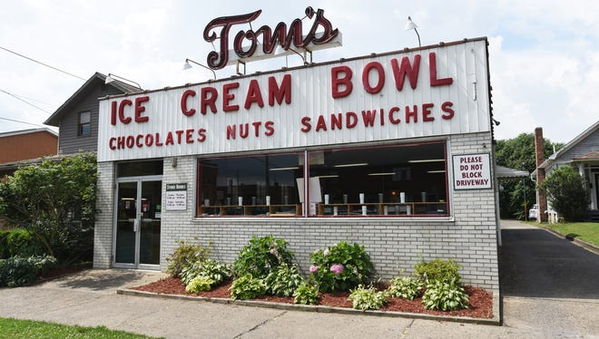 "Tom's Ice Cream Bowl will appear on the Cooking Channel's ""Ice Cream Nation"" on Monday."