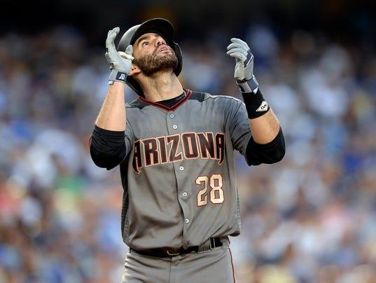 bce29e87 nydailynews.com Diamondbacks' J.D. Martinez hits four home runs against  Dodgers