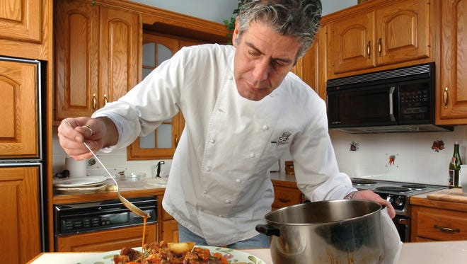 10/21/2004: In The Record Kitchen with Chef Anthony Bourdain.