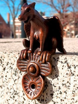 Butte-Silver Bow parking officials say five of the eight four-inch-tall gargoyles were stolen over the weekend and city officials are asking for help to identify the theft suspects.