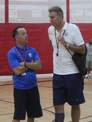 Michigan Elite 25 Basketball Camp co-founder Tim McCormick