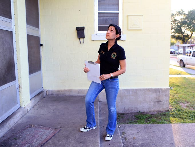Amy Rodriguez, a probation officer with the domestic