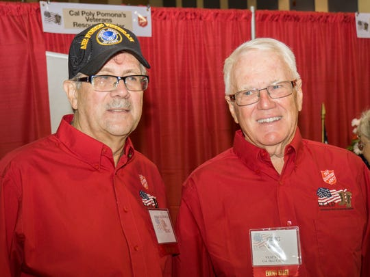 Veterans Easy Access Program board members Bill Young and Greg Peck.