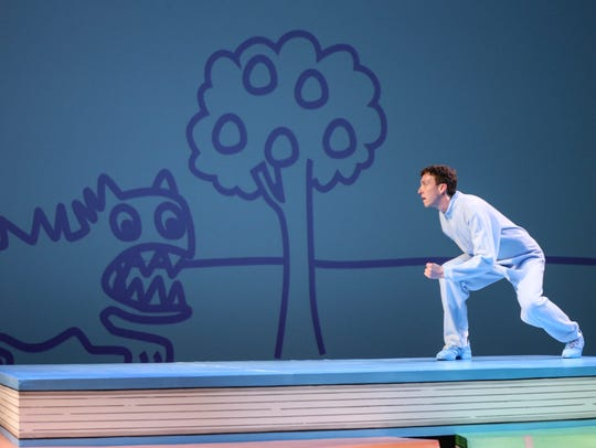 Matthew Brennan performs as Harold in a Stage One performance
