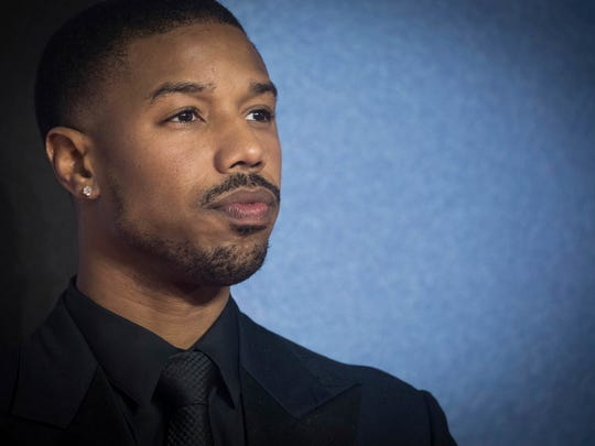 Michael B. Jordan is down with the cowl, er, scowl.