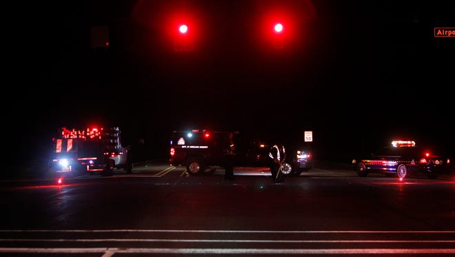 Northbound U.S. 231 was closed at Airport Road to allow officers to investigate a three-vehicle crash at U.S. 231 and Indiana 26