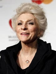 Judy Collins arrives at the MusiCares Person of the