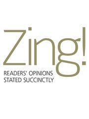 Zing! Readers' opinions stated succinctly