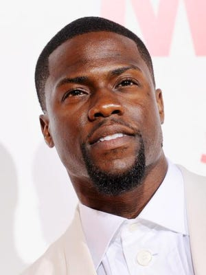 """Kevin Hart, a cast member in """"Think Like A Man Too,"""" poses at the premiere of the film on Monday, June 9, 2014 in Los Angeles."""