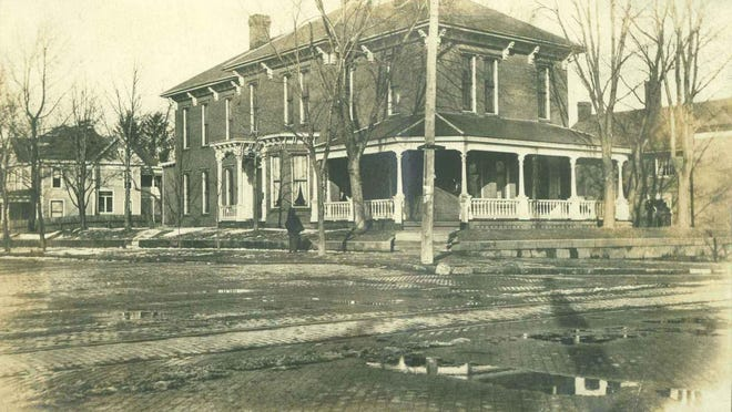 The Beery home at 201 E. Main St. is shown in this 1903 photograph.