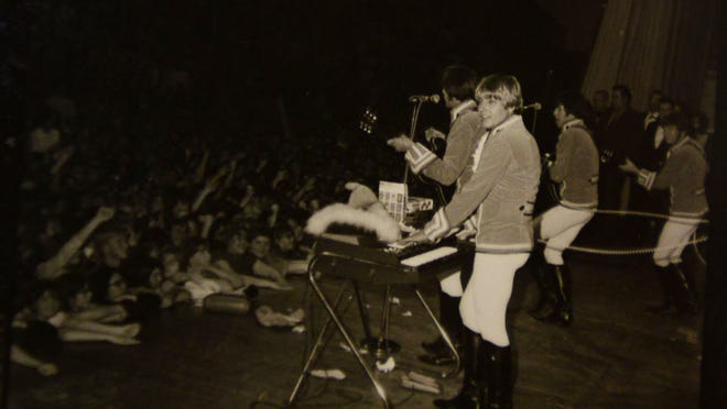 Paul Revere and the Raiders perform at the Salem Armory. The group played at the Salem Armory several times during the 1960s and 1970s, the heyday of rock 'n roll in the area.