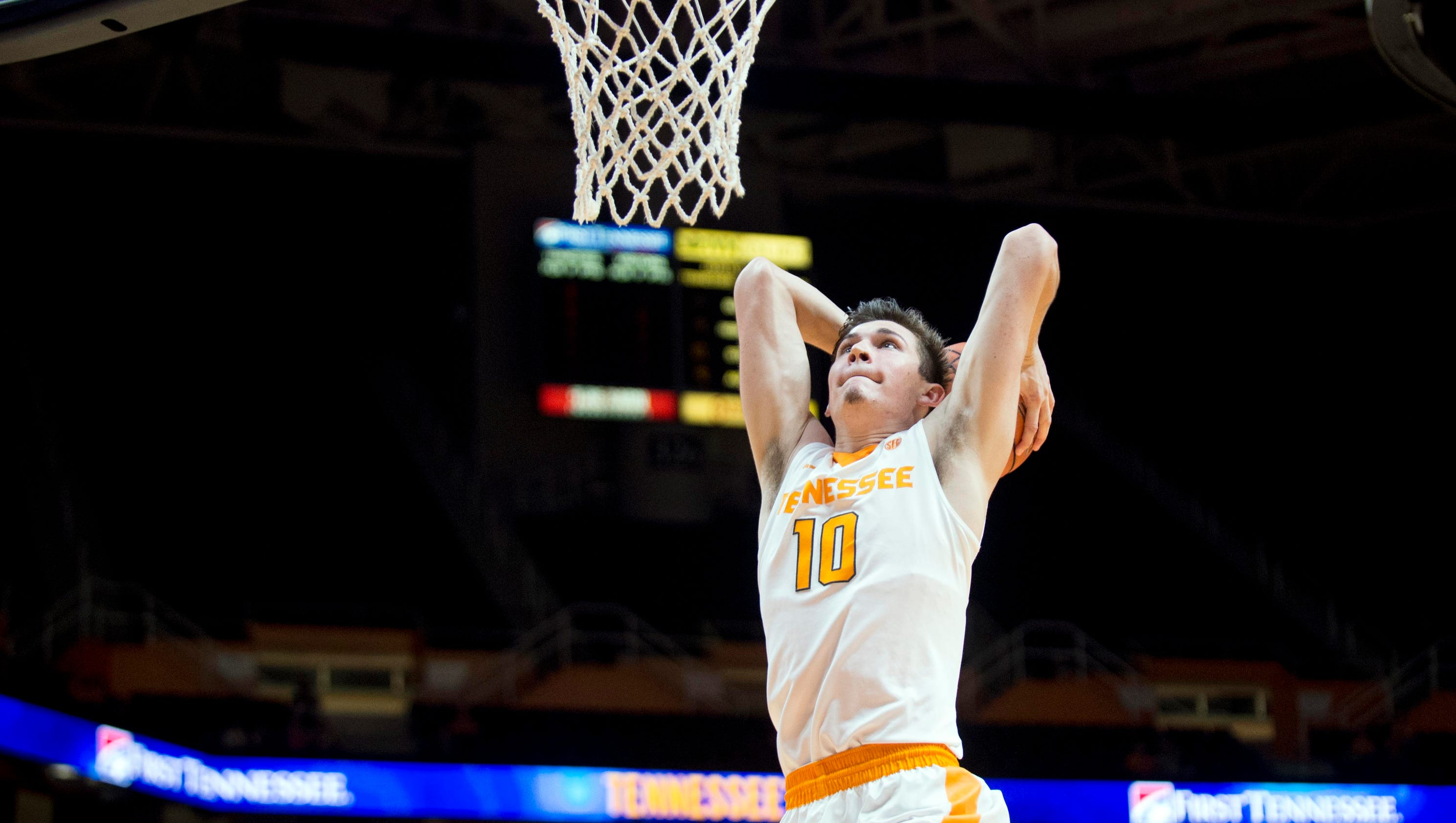 Vols post player John Fulkerson flips the energy switch