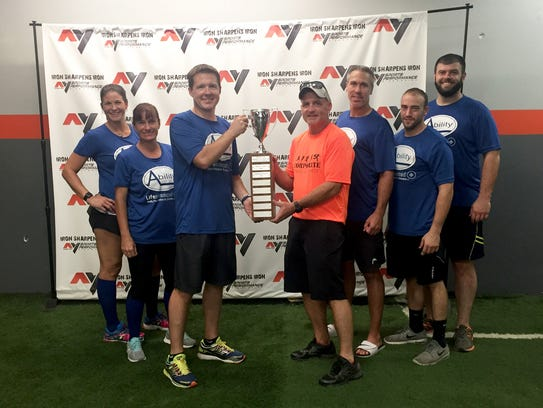 Winners of the third annual Corporate Challenge competitive