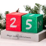 Christmas DIY: Countdown blocks