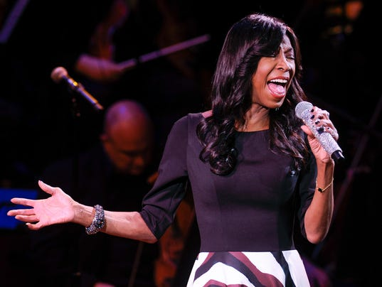 In a Monday, March 2, 2015 file photo, singer Natalie Cole performs at