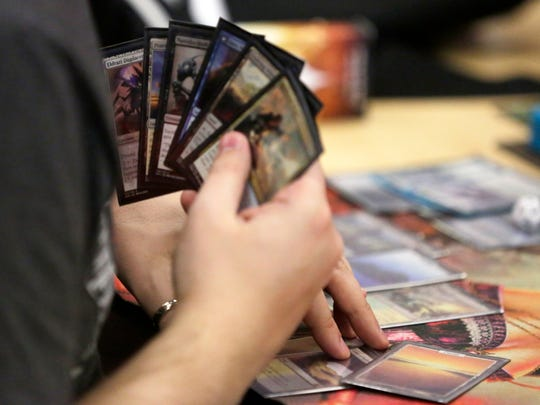 Magic: The Gathering is played at Gnome Games in Darboy.