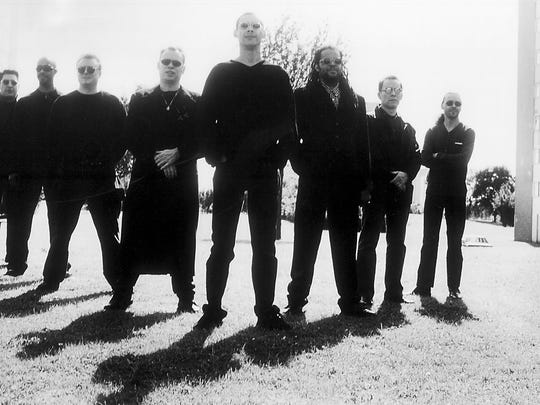 Band members of UB40 pose for a publicity photo in 1999. Founding members Ali Campbell, fourth from left, and Astro, sixth from left, will be accompanying the 40-year-old band during their concert in Guam on Feb. 13, 2019.