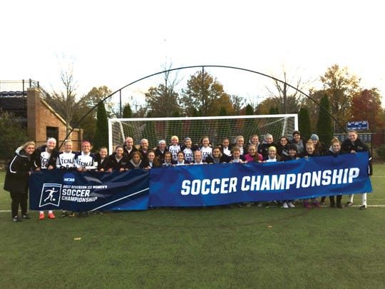 The TCNJ Women's Soccer team holds the NCAA Soccer
