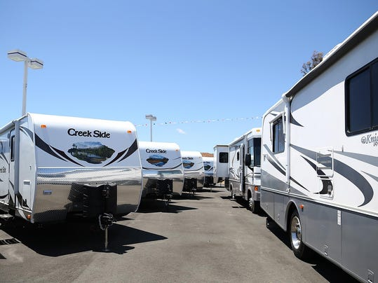 RV Sales Increase, Signal Boost In Consumer Spending