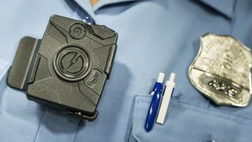 A body camera from Taser