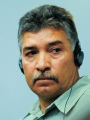 Francisco Ceniceros appears in Third Judicial District Court on Thursday.