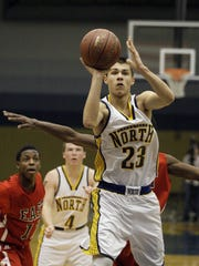 Zach Hasenstein was the third-leading scorer for the