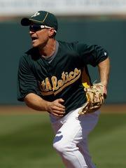 Former Oakland Athletics second baseman Mark Ellis