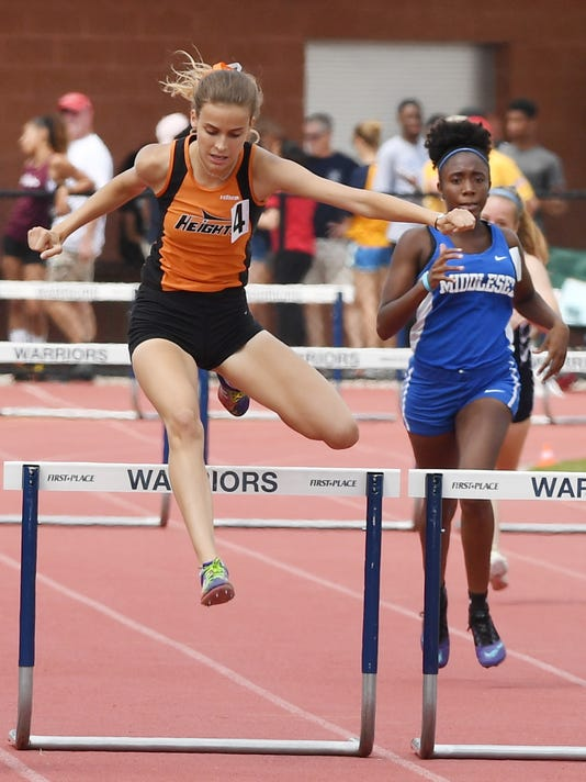 State Track Championships, Day 1