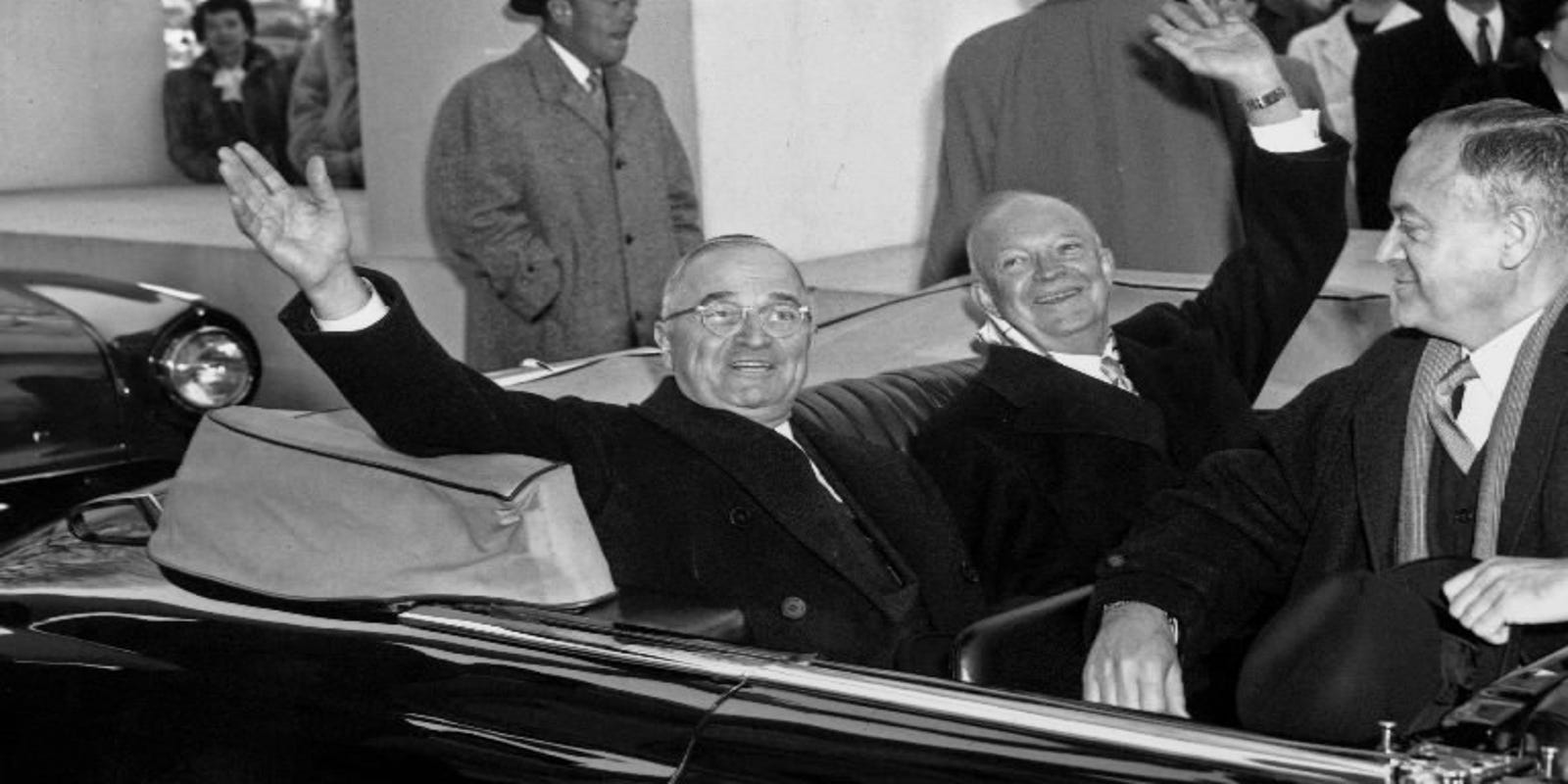 Harry S. Truman's grandson: The messy, impolite history of presidential transitions