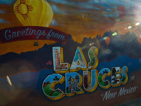 "Artists have created a ""Greetings from Las Cruces,"