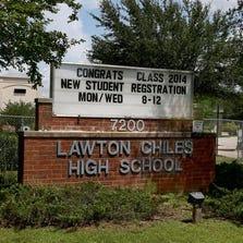 Lawton Chiles High is one of the schools in the Leon County School District. (Photo: Glenn Beil Glenn Beil/Democrat)
