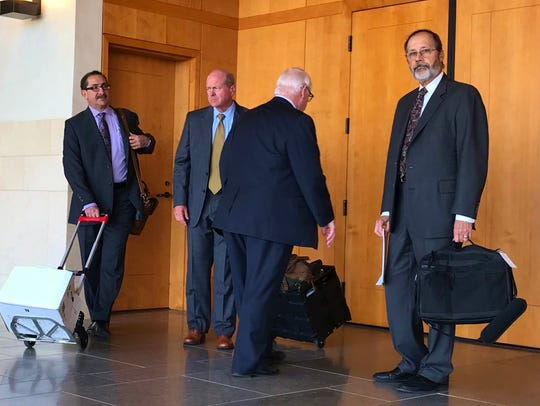 TRMC and HCCA lawyer battled in court on Thursday morning.
