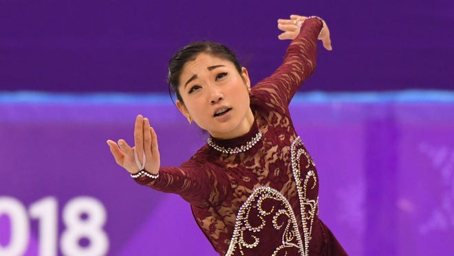 Mirai Nagasu placed ninth in the women's short program and free skate in Pyeongchang to finish 10th overall.