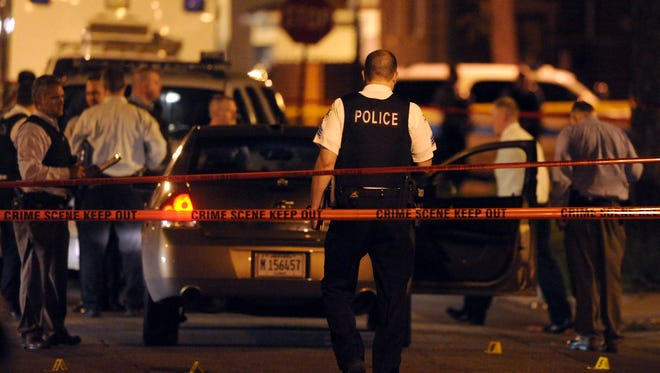 Chicago Police investigate an officer-involved shooting.