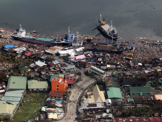 Philippines sifting through horror in Typhoon Haiyan