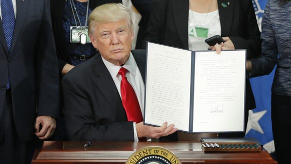 Given Trump's campaign pledges, the executive orders