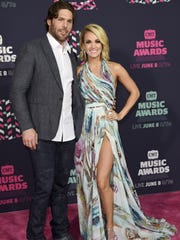 The Tennessean Predators captain Mike Fisher and wife