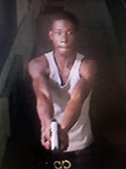 A surveillance image of a suspect in Jackson's 42nd