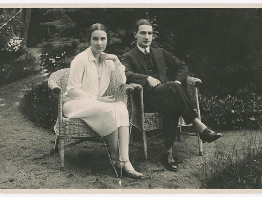 Frank Grunwald's parents, Vilma and Kurt, before the