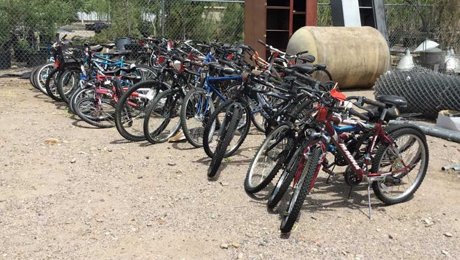 These bicycles will be included in a city auction taking place Aug. 28, 2018.