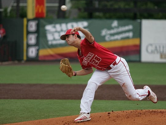 UL pitcher Gunner Leger was honored as the Freshman of the Year on the All-Sun Belt baseball team.