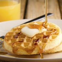 Did a chain mail accident really lead to the discovery of waffles?