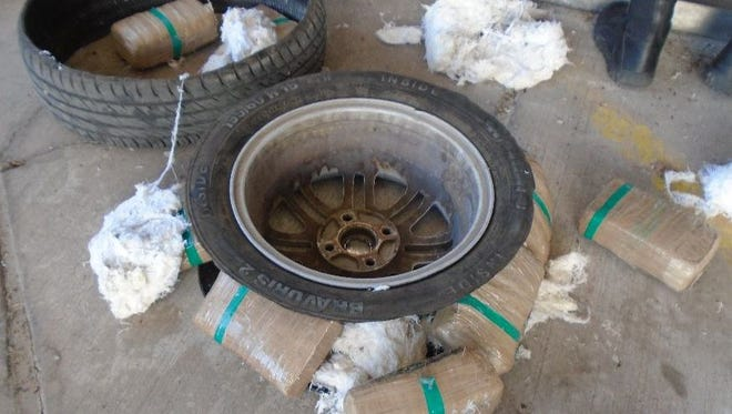 Federal agents seized more than $740K of drugs at Arizona-Mexico border in August 2015