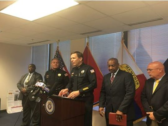 The Memphis Police Department announced in a press conference Friday that an arrest had been made in the fatal shooting of 14-year-old Gabrielle Harris.