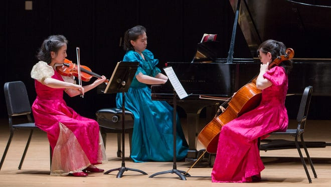 The Furuya sisters will perform at Music in the Mansion at Crawford Park on Sunday.