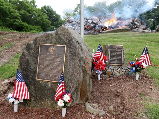 The 31st annual Memorial Day watchfire to remember