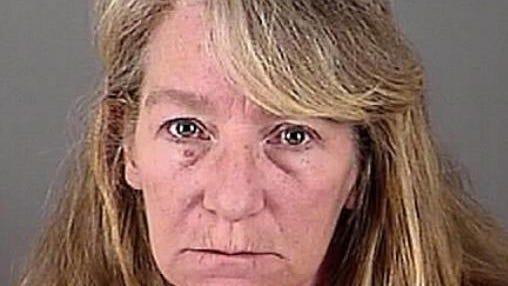 Amy Van Wagner. Booking Mug, Waukesha County Sheriff's Department